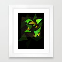 Geo•de Framed Art Print