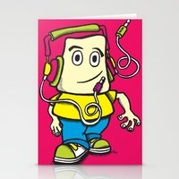 Musical Walk Stationery Cards