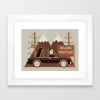A Place Both Wonderful And Strange Framed Art Print