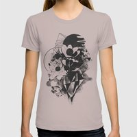 Chaos Theory Womens Fitted Tee Cinder SMALL