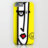 iPhone & iPod Case featuring Putaguer by Mini Finger
