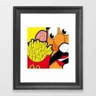 SLOH - Cannibalism Framed Art Print