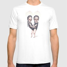 The Load White Mens Fitted Tee SMALL