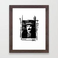 belle amour Framed Art Print