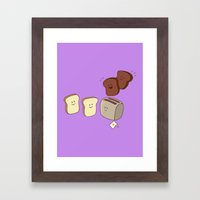 Toasty Business! Framed Art Print