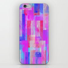 techno base iPhone & iPod Skin