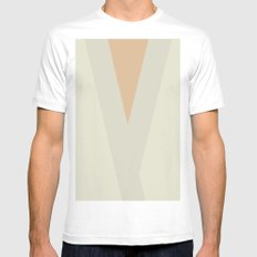 The Son SMALL Mens Fitted Tee White