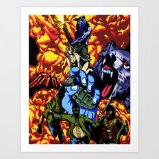 WARWOLF Art Print