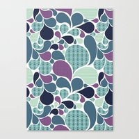 Sea pattern Canvas Print