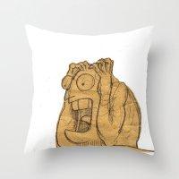 AAAAAHHHHHHHHHHHHHH!!! Throw Pillow