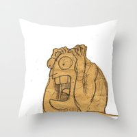 AAAAAHHHHHHHHHHHHHH!!! Throw Pillow
