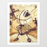 Ranaquattroluigicentotre… Art Print