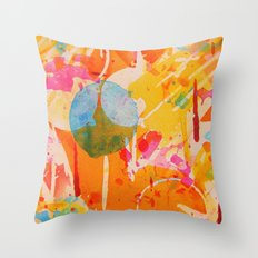 focal  Throw Pillow
