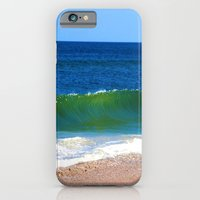 iPhone & iPod Case featuring The Ocean Song by Susanne Van Hulst