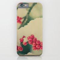 Winter Berry iPhone 6 Slim Case