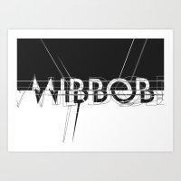 Mirror. Art Print
