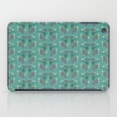 pattern with dragonflies 1 iPad Case