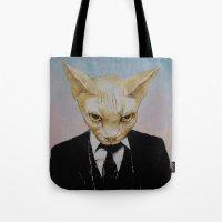 Mister Cat Tote Bag