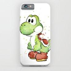 Yoshi Watercolor Mario iPhone 6s Slim Case
