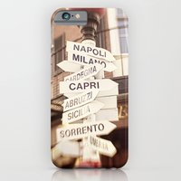 Lead Me To Italy iPhone 6 Slim Case
