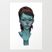 Kitsch Art Print