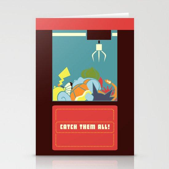 Claw Machine Stationery Card