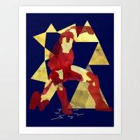 Ironman Art Print