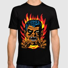 Werewolf Mens Fitted Tee SMALL Black