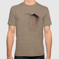 The head of love Mens Fitted Tee Tri-Coffee SMALL
