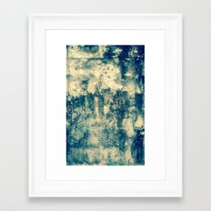 Abstract Grunge Framed Art Print