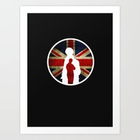 Queen And Country (Sherl… Art Print