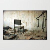 Punishment Canvas Print