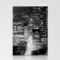 san francisco Stationery Cards featuring san francisco by Bunny Noir