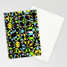 Square 3 color option 2  Stationery Cards