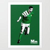 M Is For McGrath Art Print