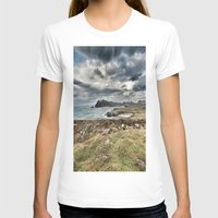 Ireland Calls Womens Fitted Tee White SMALL