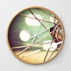 Bokehcle Wall Clock