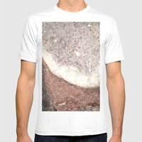 crystals Mens Fitted Tee White SMALL
