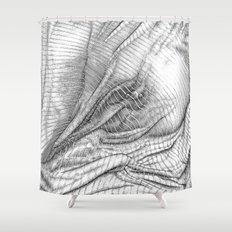 ASC 634 - Le drapé (Paranormal activity) Shower Curtain