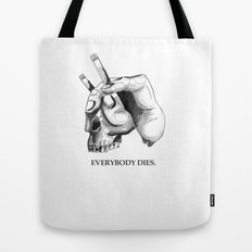 handcigskull II Tote Bag