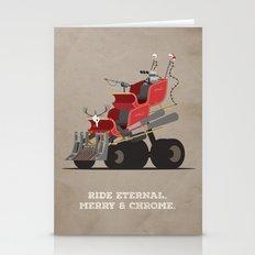 Mad Santa.  Stationery Cards