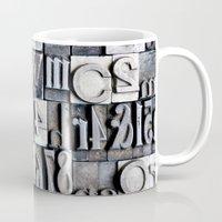 Letterpress Mug