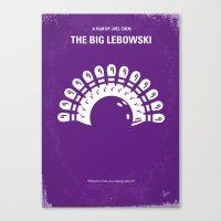 No010 My Big Lebowski Mi… Canvas Print