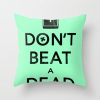Seriously... Throw Pillow