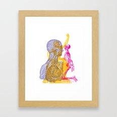 Anatomy Montage 1 Framed Art Print