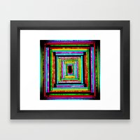 The Pattern Squared Framed Art Print