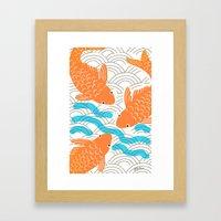 Lucky Fish Framed Art Print