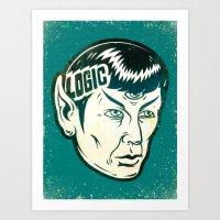 Logical Art Print