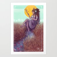 the empress Art Print