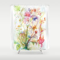Floral Spree Shower Curtain